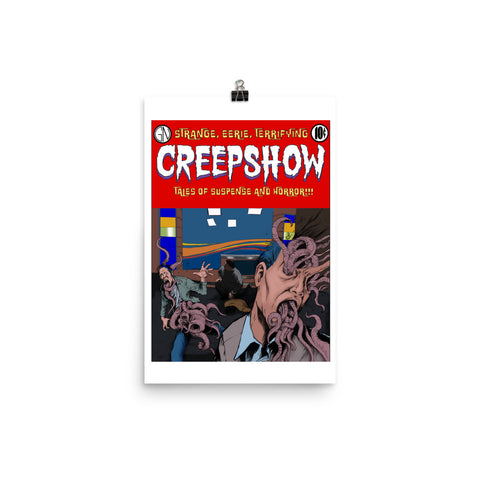 Skincrawlers Cover Poster 12×18 | Official Creepshow Store