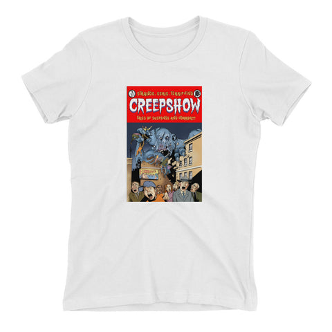 Gray Matter Cover Women's t-shirt White | Official Creepshow Store