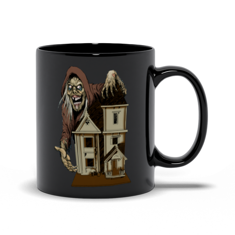 House of the Head Black Mugs 11 oz | Official Creepshow Store
