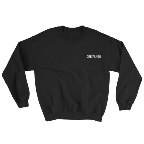 Simple Logo Embroidered Sweatshirt Black | Official Creepshow Store