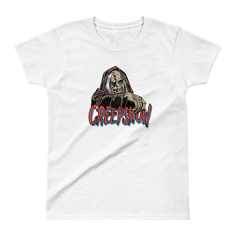 Women's CBC Creep T-shirt White | Official Creepshow Store