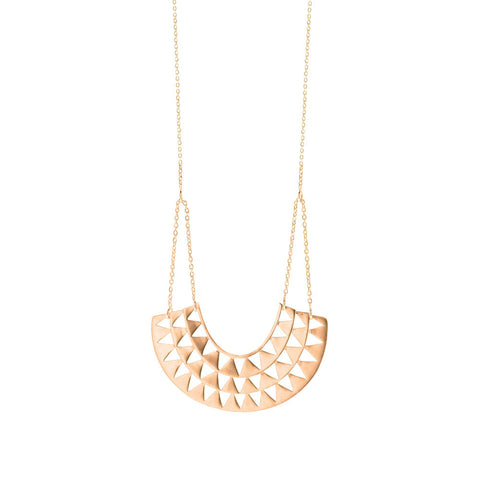 Goddess Necklace - Rose Gold Plated Sterling Silver