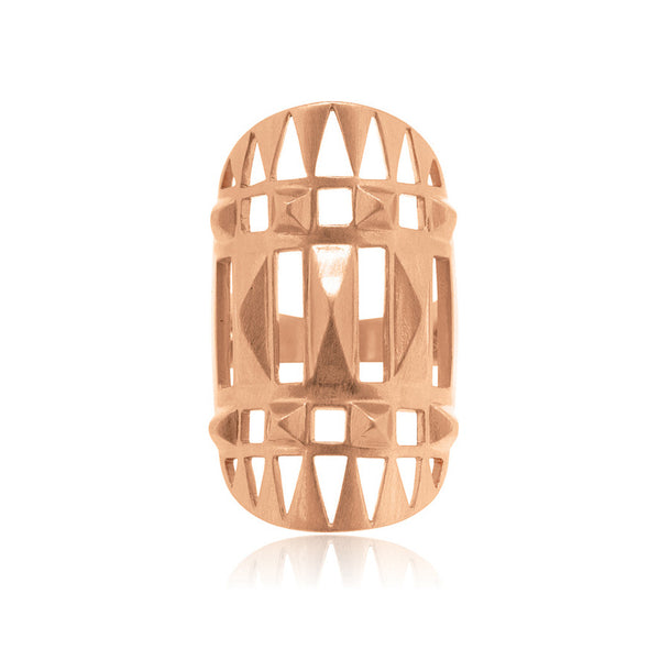 Unknown Ring - Rose Gold Plated Sterling Silver