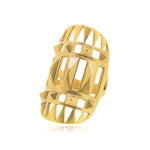 Unknown Ring - Yellow Gold Plated Sterling Silver
