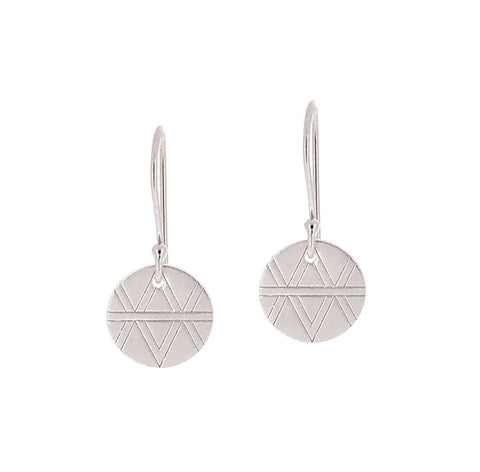 Journey Earrings - Sterling Silver