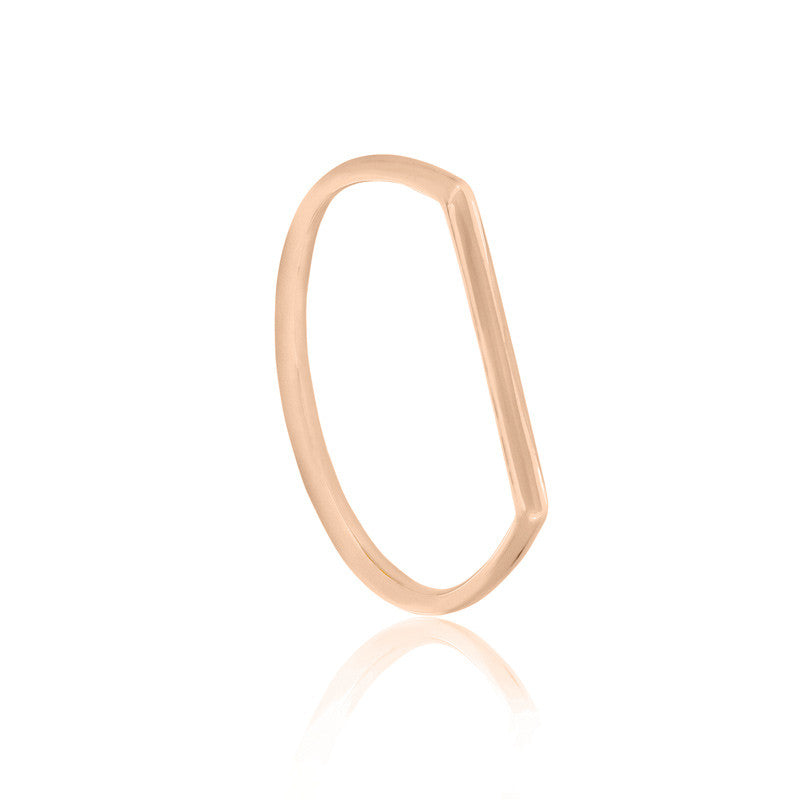 Geo Ring - 9k Rose Gold