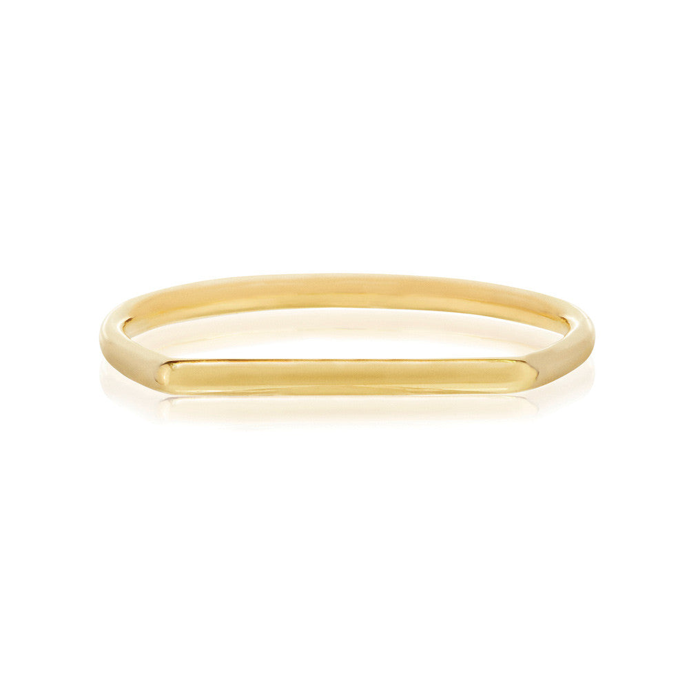 Geo Ring - 9k Yellow Gold