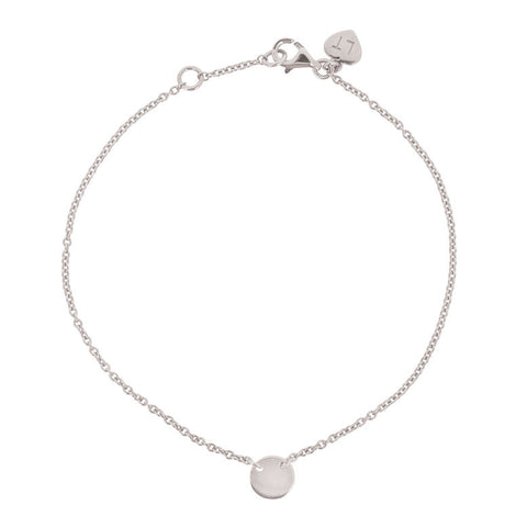 Little Disc Bracelet - Sterling Silver