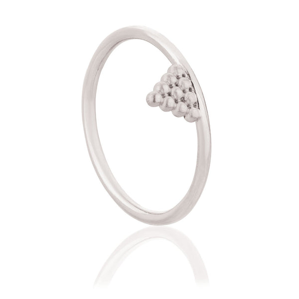Mini Kuchi Ring - Sterling Silver