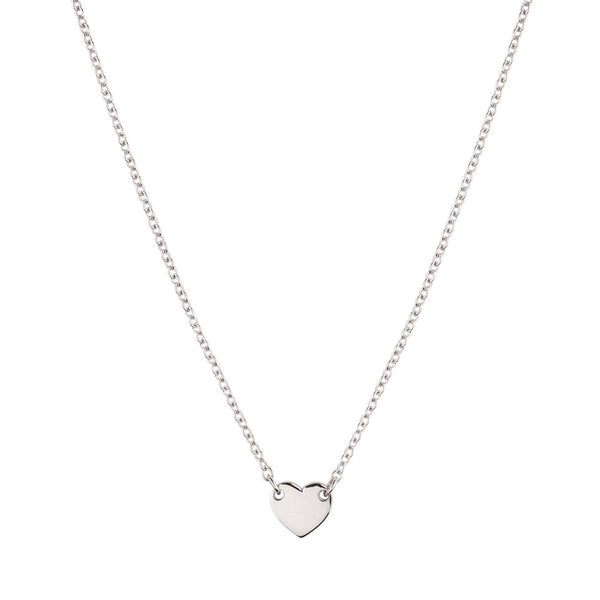 Itsy Bitsy Heart Necklace - Sterling Silver