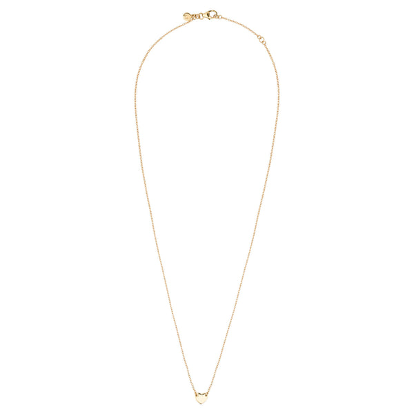 Itsy Bitsy Heart Necklace - 9k Yellow Gold