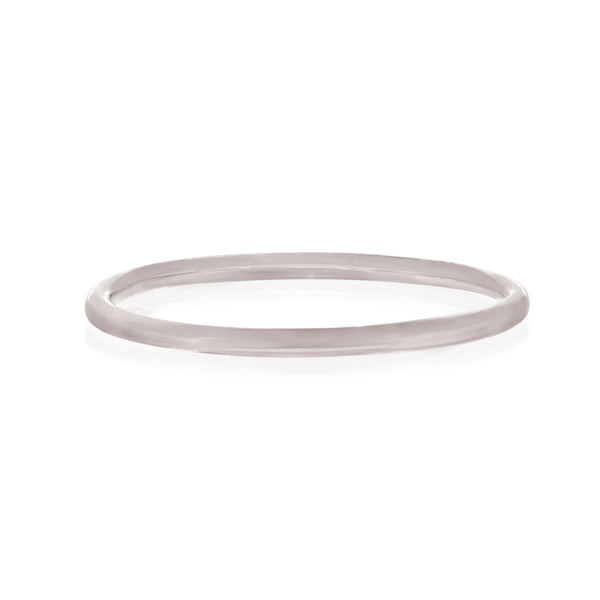 Plain Polished Ring - Sterling Silver