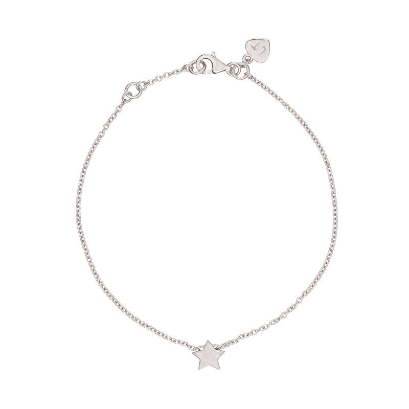 Tiny Star Bracelet - Sterling Silver