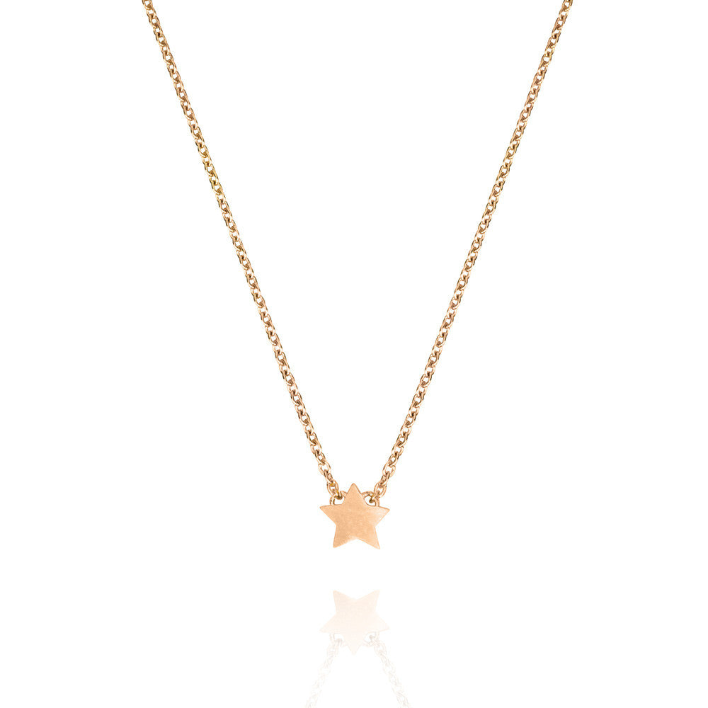 luulla product on hugerect star necklace gold in pendant tiny