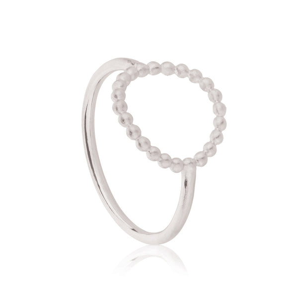 Hoop Ring - Sterling Silver