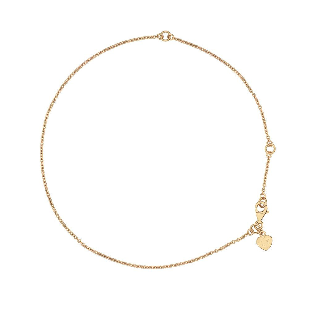 Anklet - Yellow Gold Plated Sterling Silver