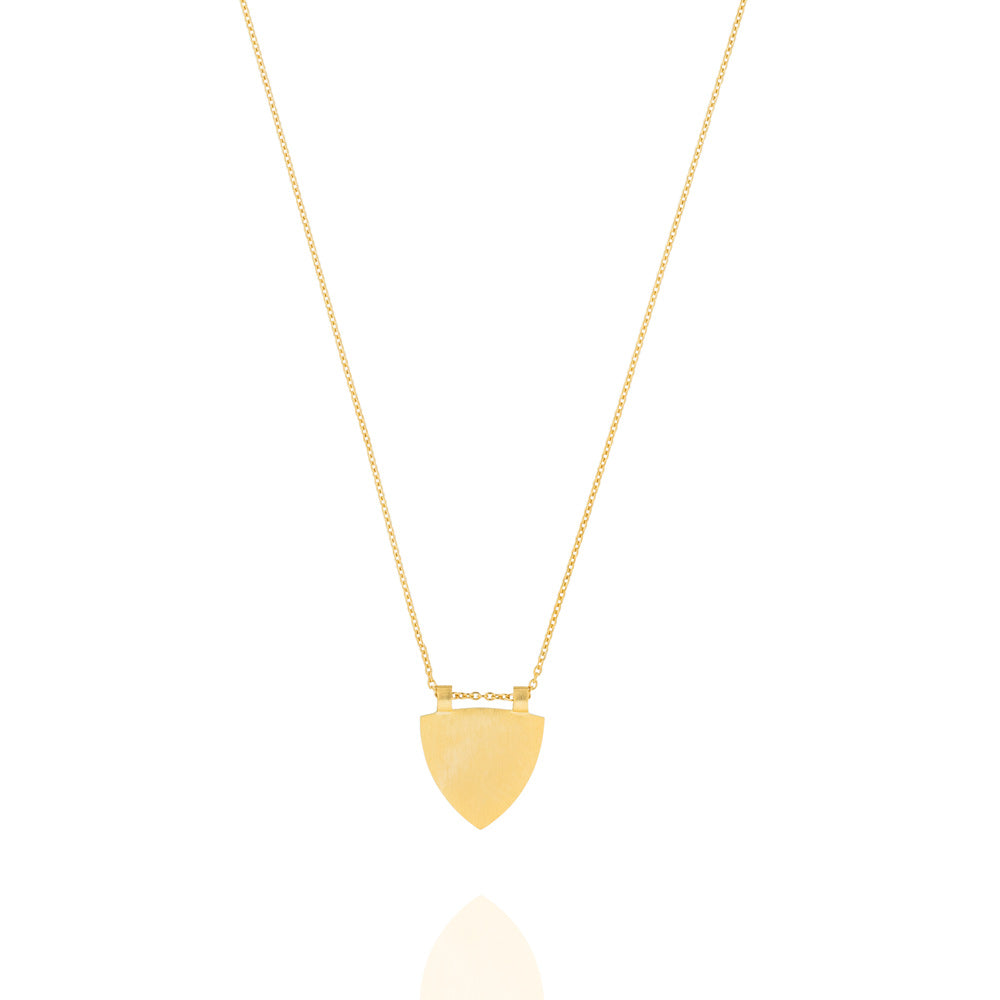 The Transit Necklace - Yellow Gold Plated Sterling Silver