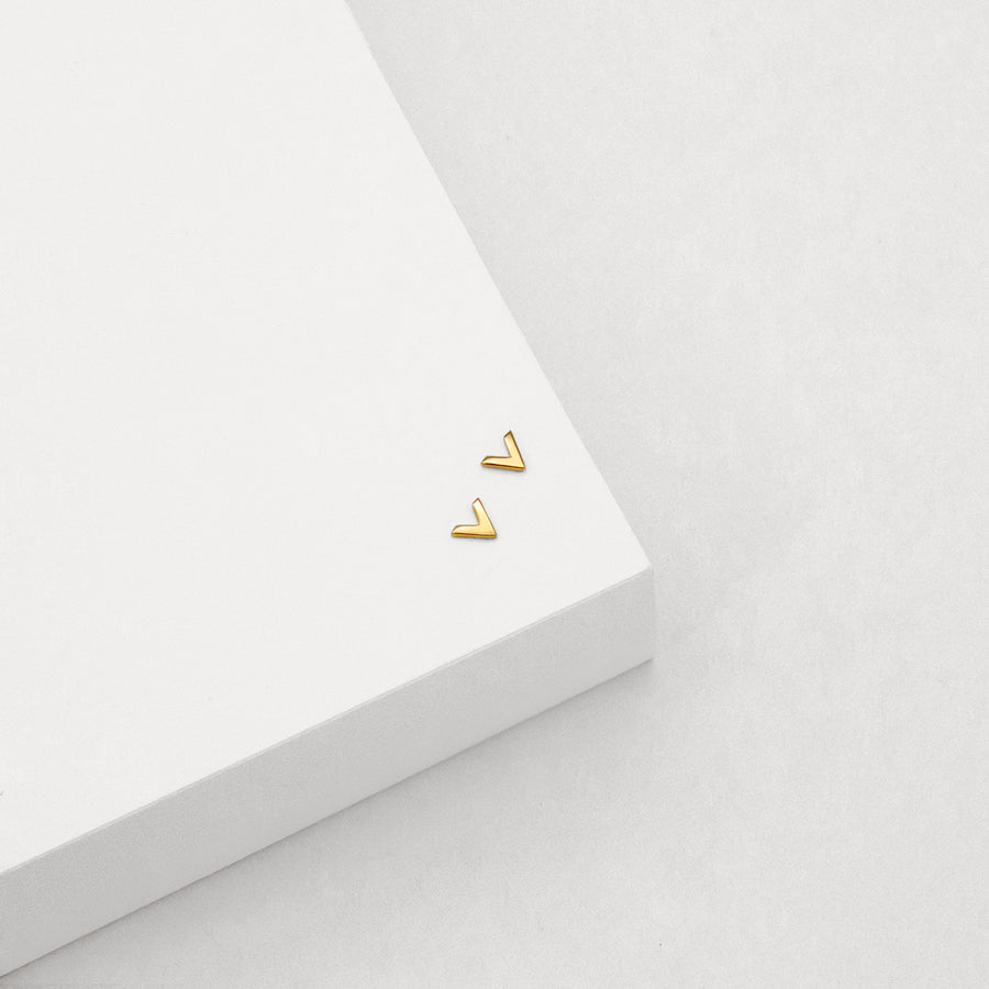 Vee Stud Earrings