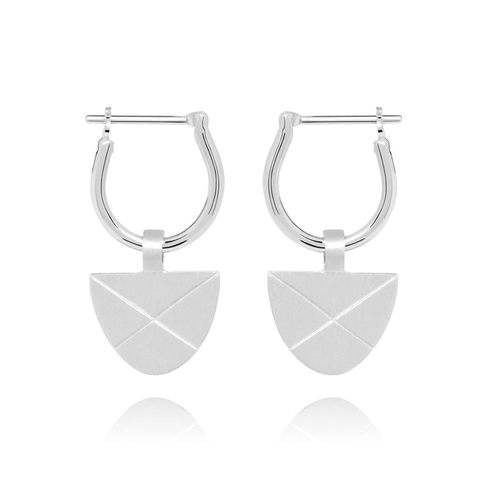 Covet Hoop Earrings - Sterling Silver