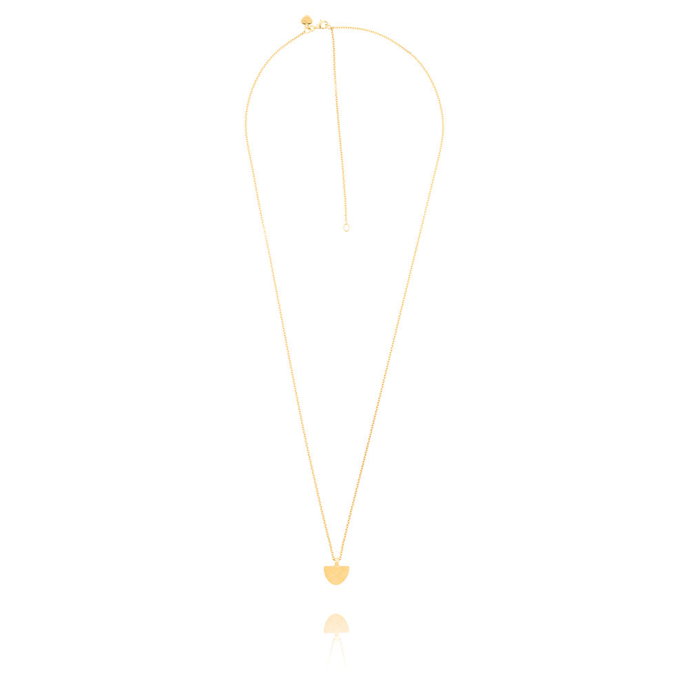 Covet Necklace - Yellow Gold Plated Sterling Silver