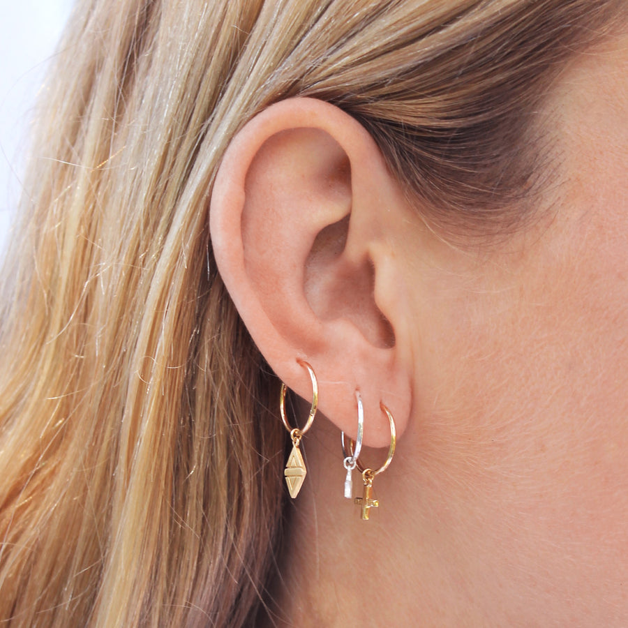 A New Dawn Sleeper Hoop Earrings