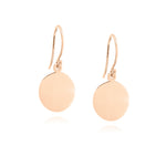Orbit Earrings - Rose Gold Plated Sterling Silver