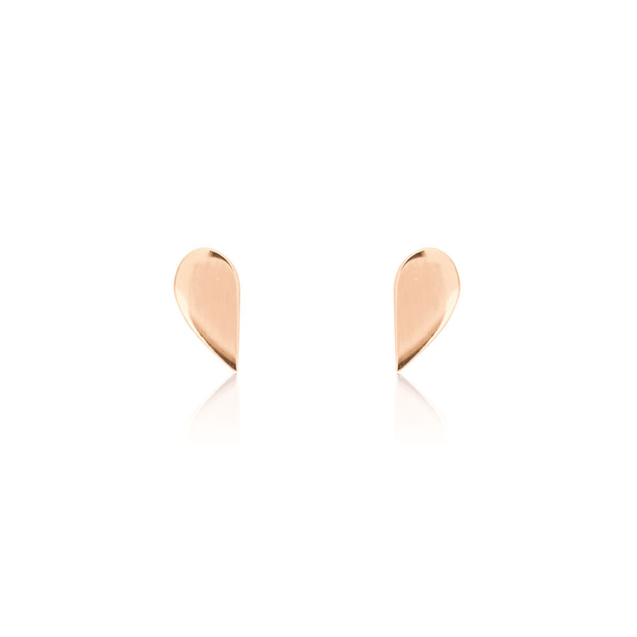 Half Stud Earrings