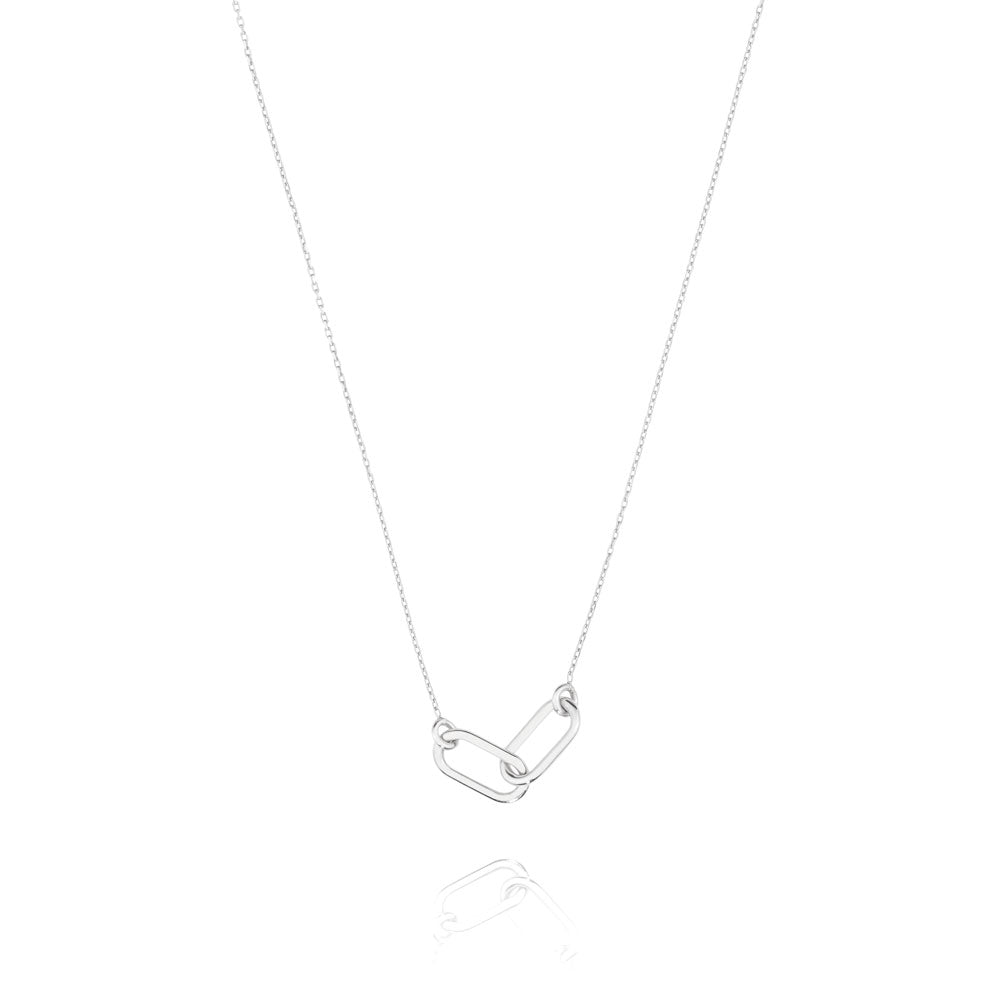 Linked Necklace - Sterling Silver