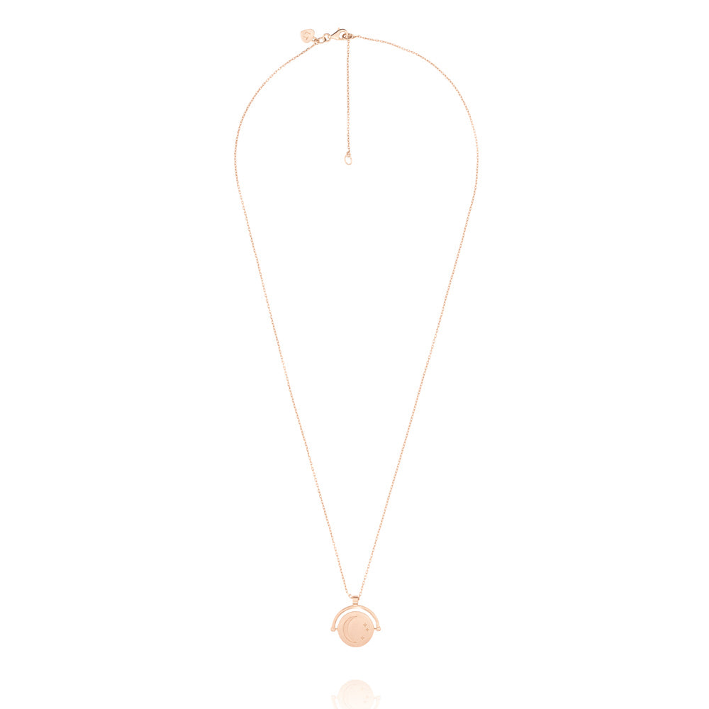Amulets of Alchemy - New Beginnings Necklace - Rose Gold Plated Sterling Silver