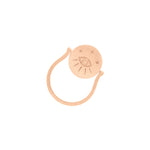 Amulets of Alchemy - Protection Ring - Sterling Silver with Rose Gold Vermeil