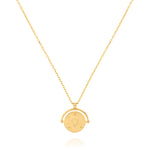 Amulets of Alchemy - Love Necklace - Yellow Gold Plated Sterling Silver