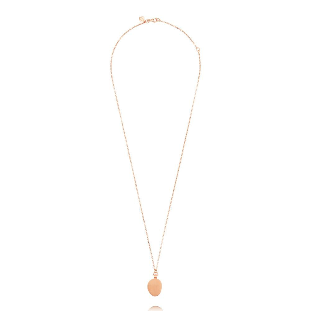 Hannah Necklace - Rose Gold Plated Sterling Silver