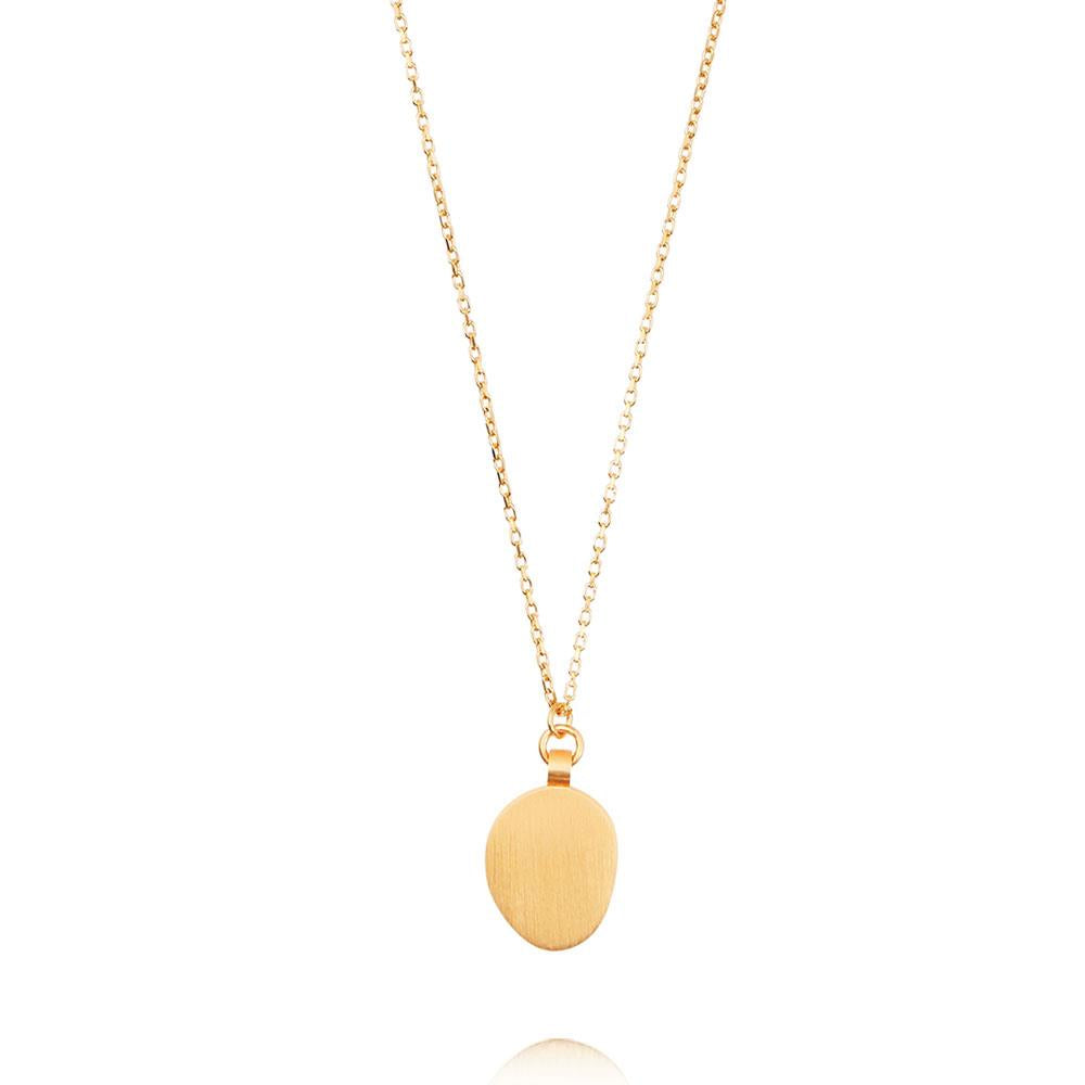 Hannah Necklace - Yellow Gold Plated Sterling Silver