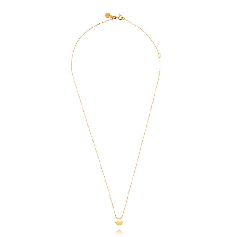 Yolly Necklace - Yellow Gold Plated Sterling Silver