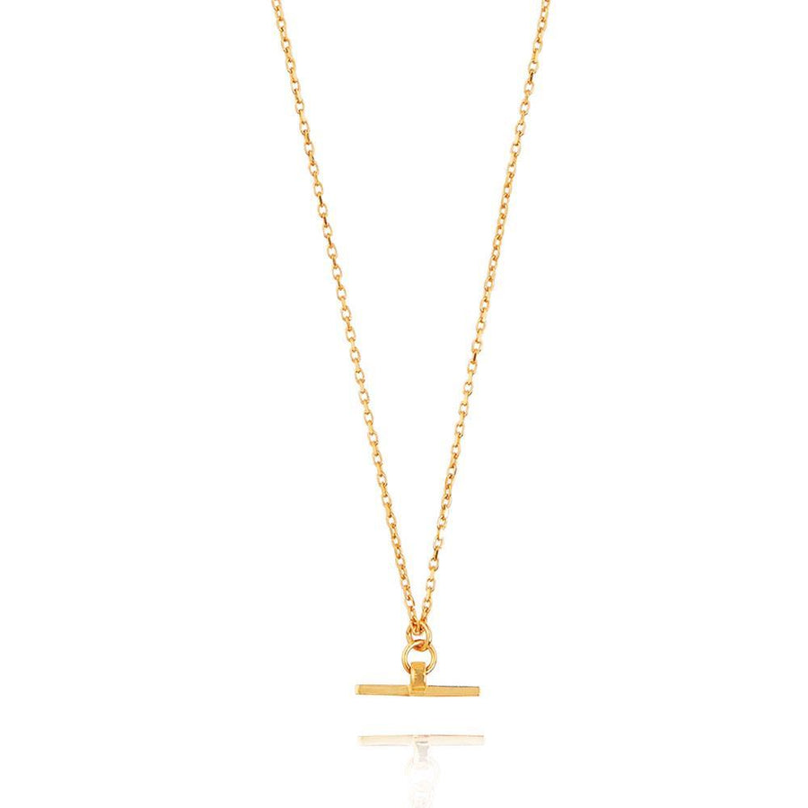 Valentina T-Bar Necklace