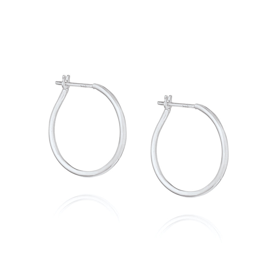 Willpower Hoop Earrings