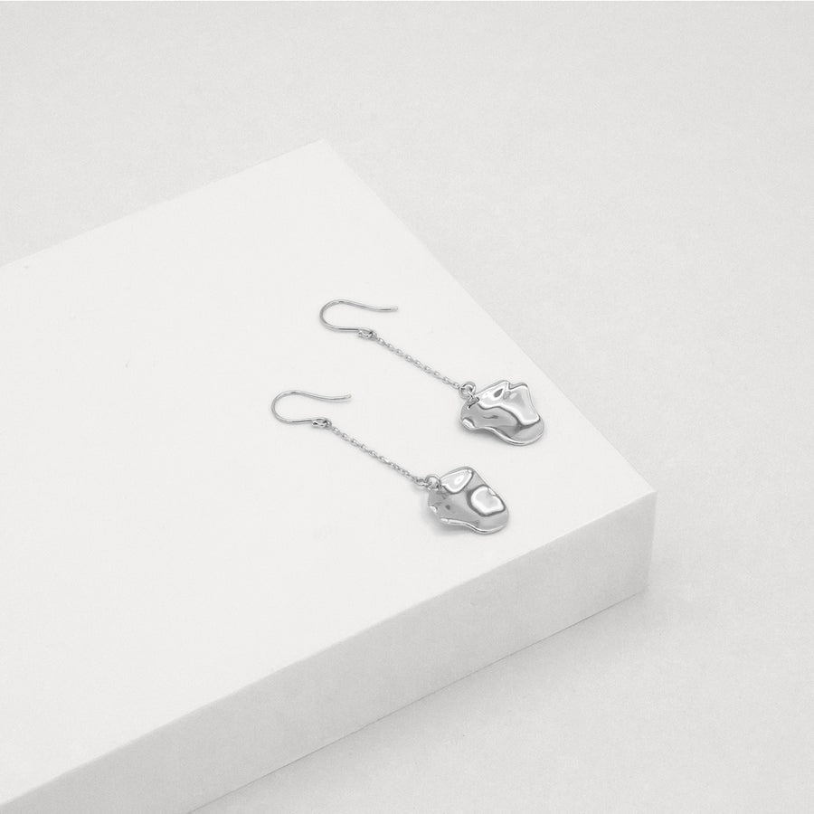 Morph Chain Drop Earrings