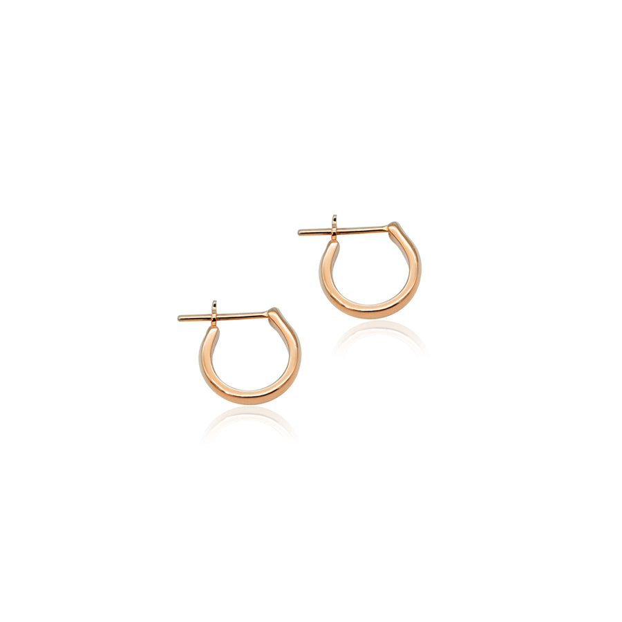 Staple Hoop Earrings