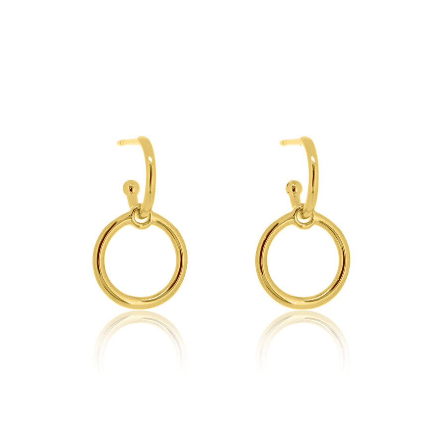 Halo Base Hoop Earrings
