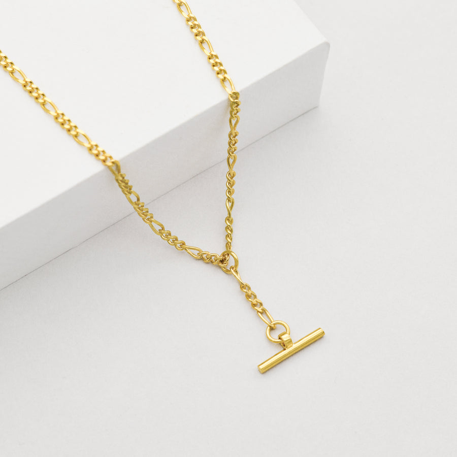 Figaro T-Bar Necklace