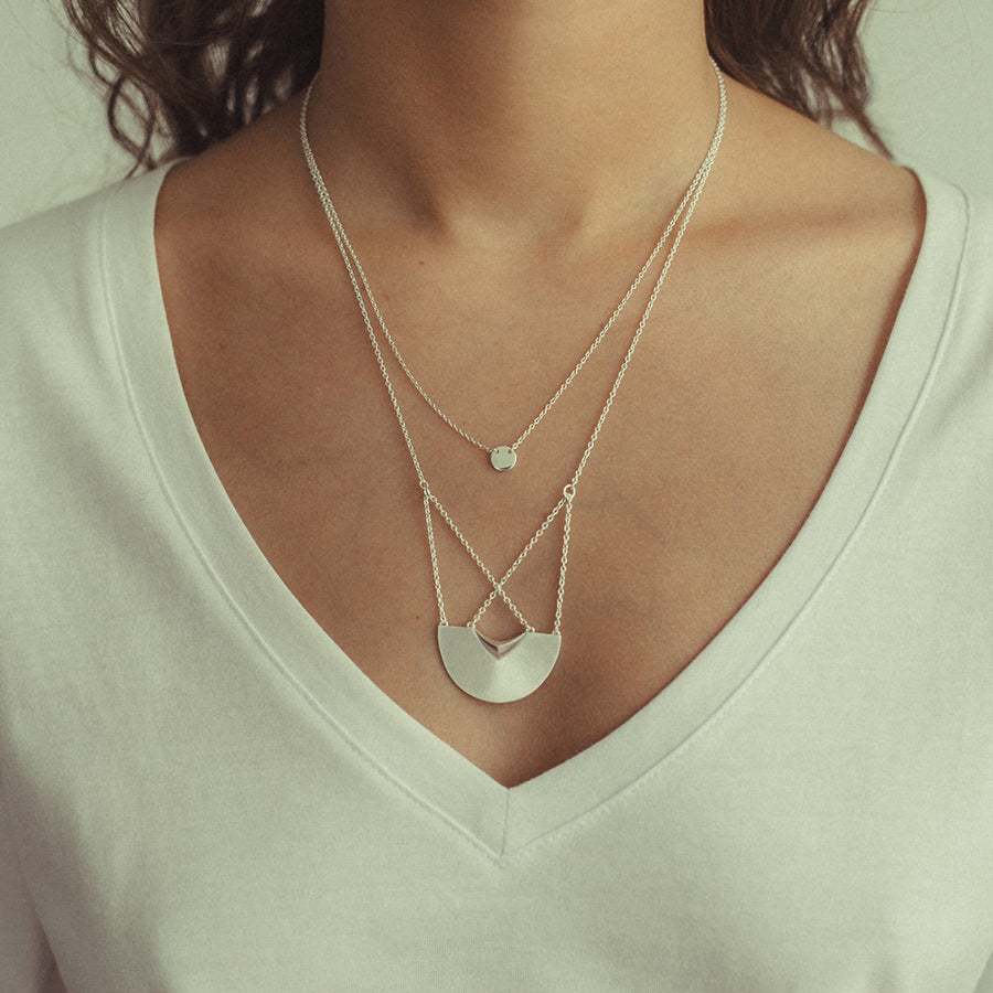 Three Moons Necklace