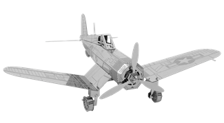 F4U Corsair Steel Model Kit