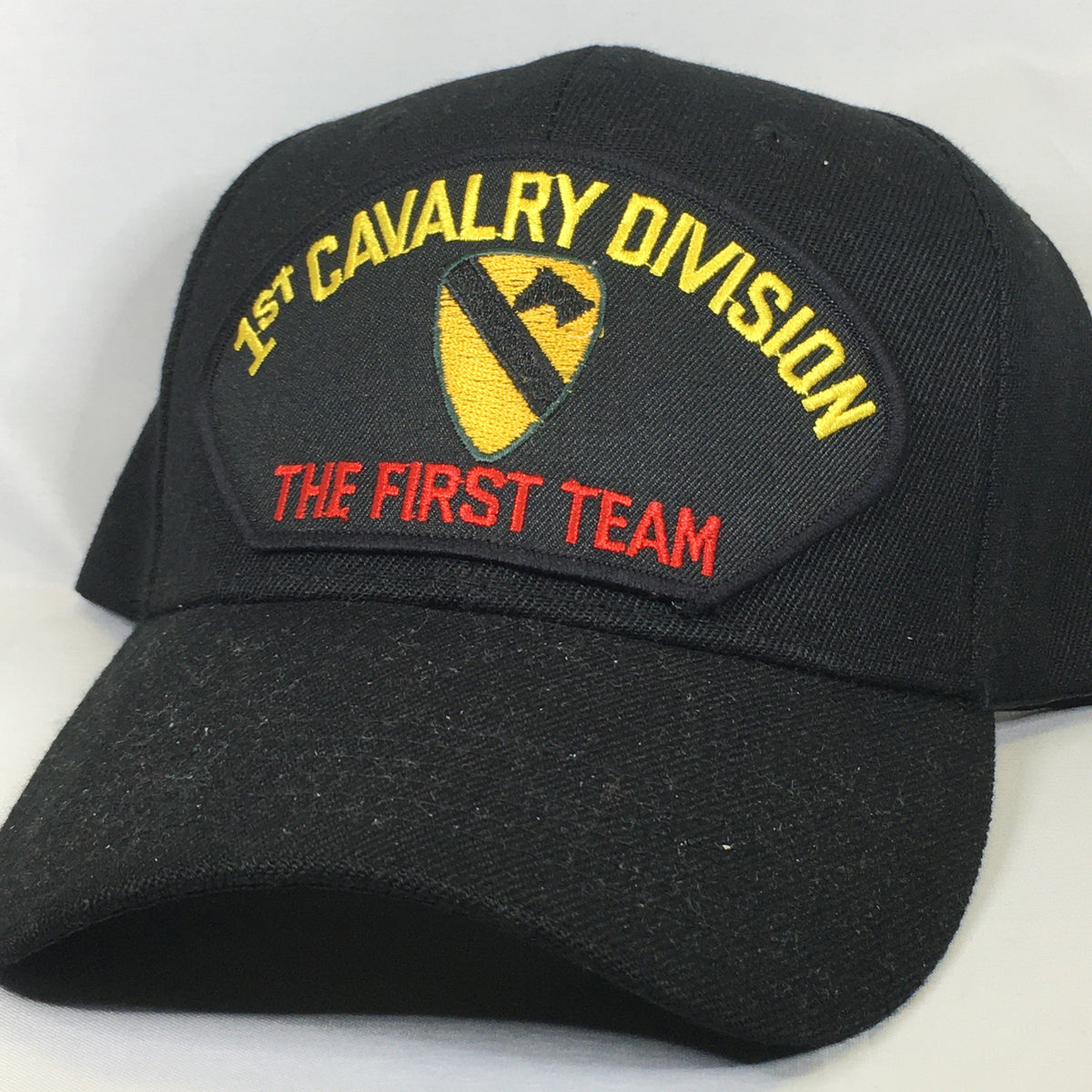 1st Cavalry Division - The First Team Cap