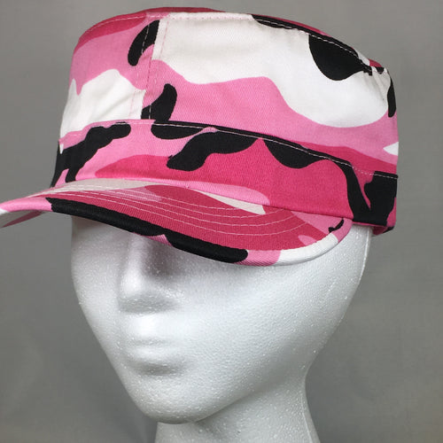 Ladies Pink Camo Hat