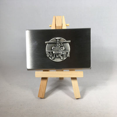 Apache Helicopter Business Card Holder