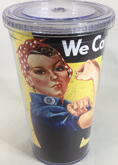 Rosie the Riveter Hot 'n Cold Tumbler