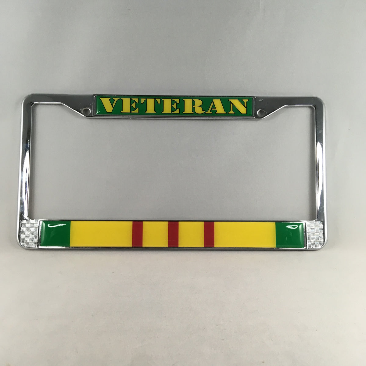 Vietnam Veteran License Plate Holder