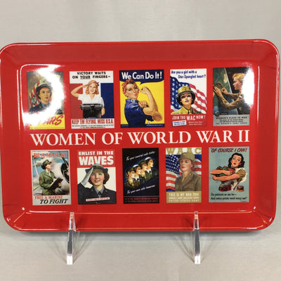 Women of WWII Tray
