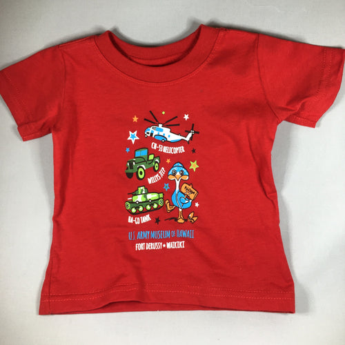 U.S. Army Museum of Hawaii Kid's T-shirt