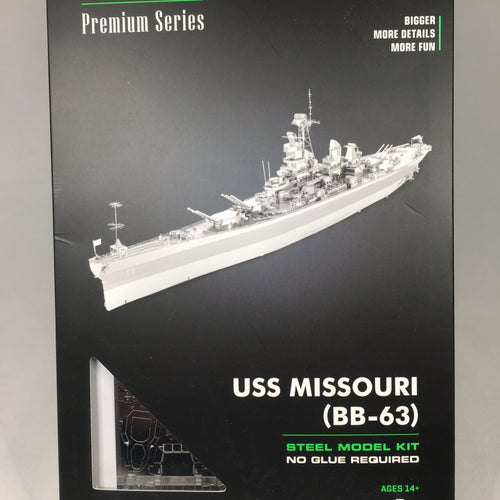 USS Missouri Metal Earth Steel Model Kit
